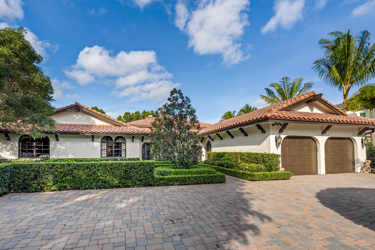 4061 Ibis Point Circle Boca Raton FL 33431 The Sanctuary luxury home for sale Front view