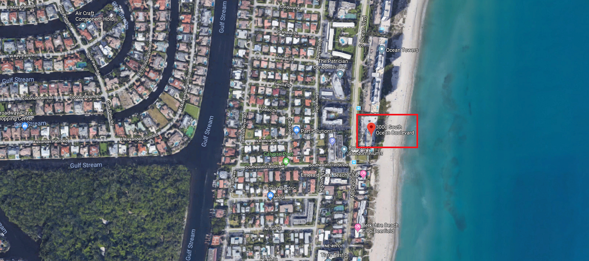 3000 S Ocean Boulevard, Boca Raton, FL 33432 luxury oceanfront condos for sale for Jean-Luc Andriot blog 022519