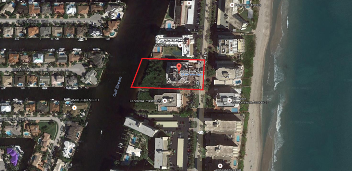 3200 S Ocean Blvd Highland Beach, FL 33487 Luxury condominiums for sale aerial view