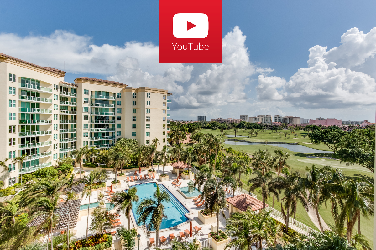Click the image to see the video of 550 SE Mizner Blvd B602 Boca Raton FL 33432 Townsend Place luxury home for sale in Townsend Place