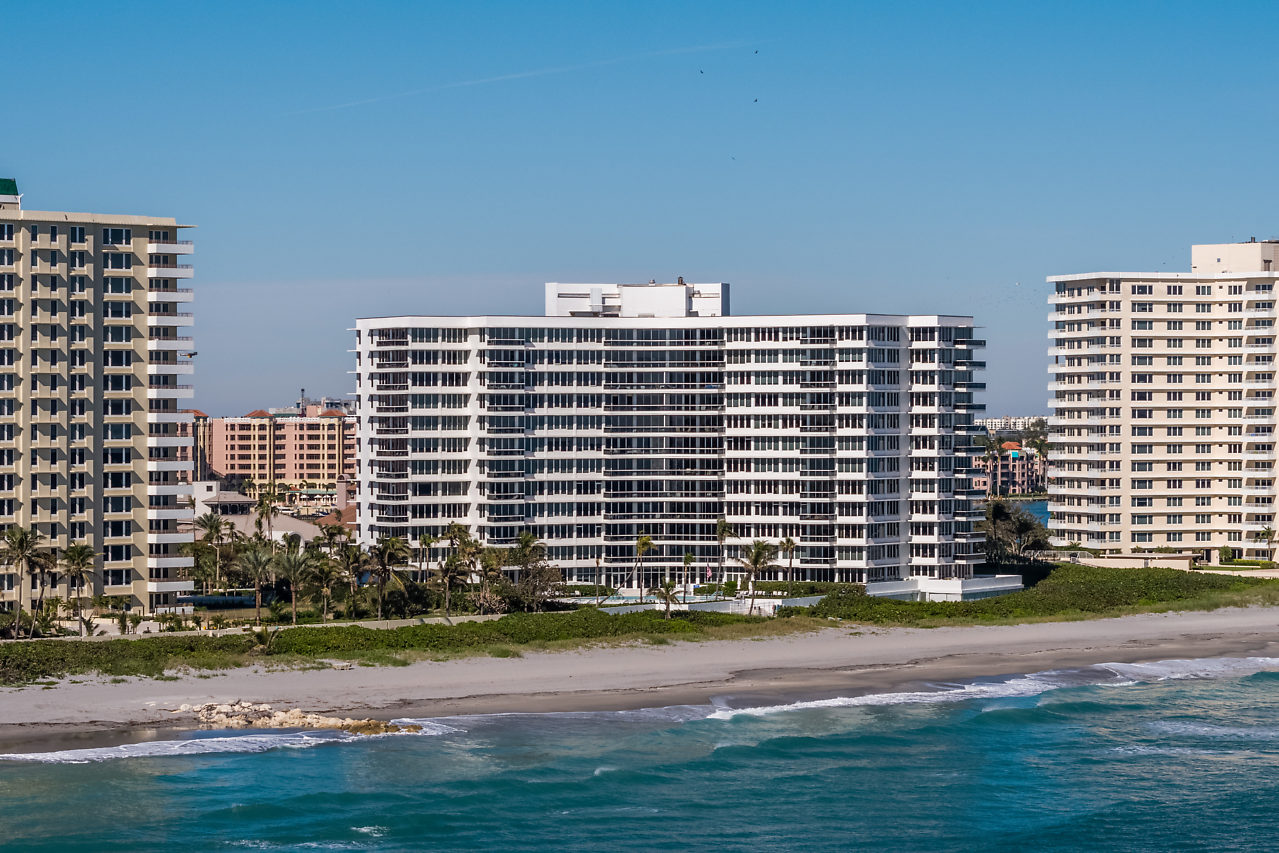 Sabal Point facing West 700 S Ocean Blvd Boca Raton FL 33432 luxury oceanfront condos for sale