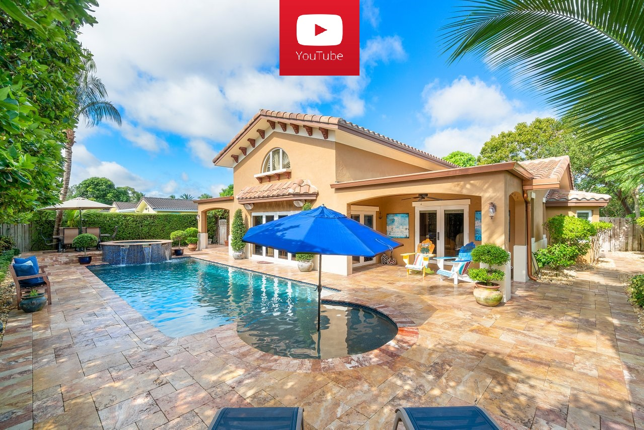 870 NW 7th Street Boca Raton FL 33486 Tunison Palms Pool area picture2 - YouTube