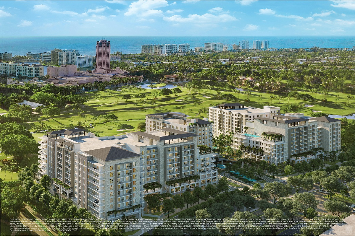 Alina 200 SE Mizner Blvd Boca Raton FL 33432 luxury condos for sale rendering on 092418