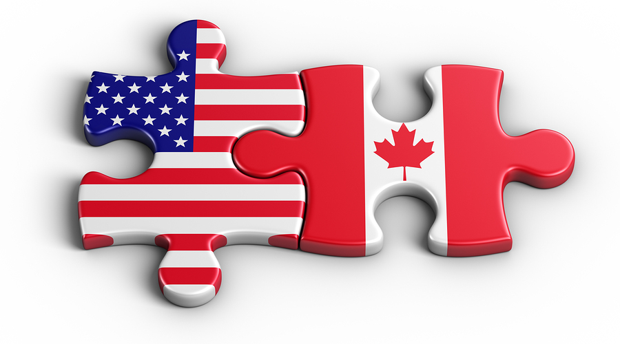 American and Canadian puzzle for Jean-Luc Andriot blog