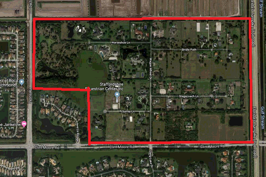 Boca Raton Horseshoe Acres luxury homes for sale aeria0 for Jean-Luc Andriot blog 082319