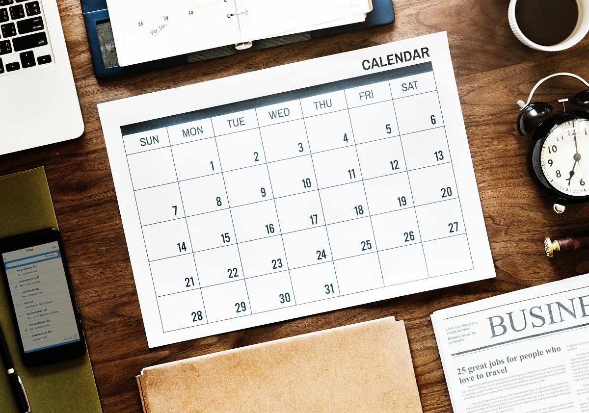 Calendar for Jean-Luc Andriot blog 030419
