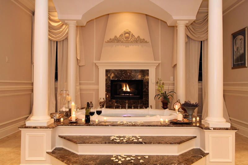 Spectacular bathroom trends for high living 2016 Luxury fireplaces luxury homes
