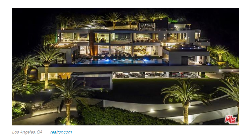 From Realtorcom Celebrity Real Estate 2018 luxury home  for Jean-Luc Andriot blog 121718