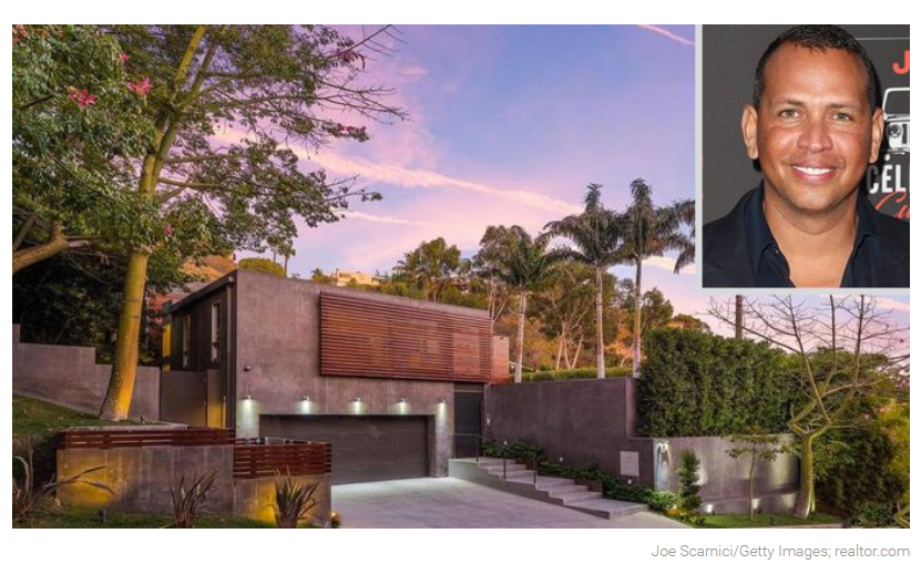 From Realtor.com Celebrity Real Estate Alex Rodriguez Selling the Hollywood Hills Home He Bought From Meryl Streep for Jean-Luc Andriot blog 111518