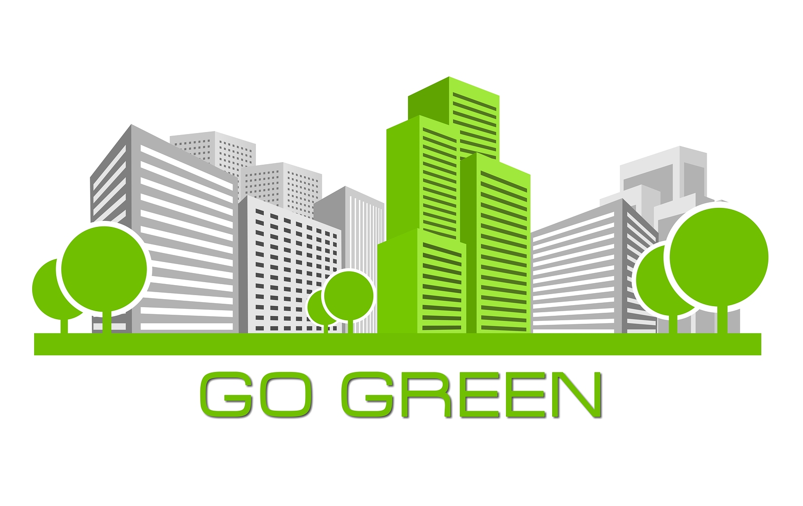 Go green building for Jean-Luc Andriot blog 042018