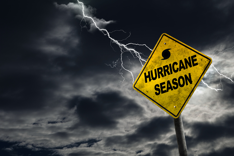Hurricane sign for Jean-Luc Andriot blog 061719