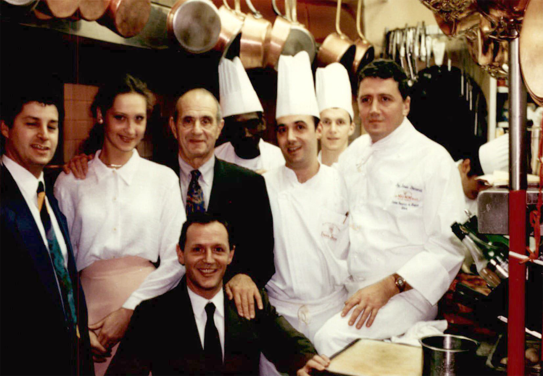 Jean-Luc Andriot and Paul Bocuse at Trois Jean Restaurant New York picture3