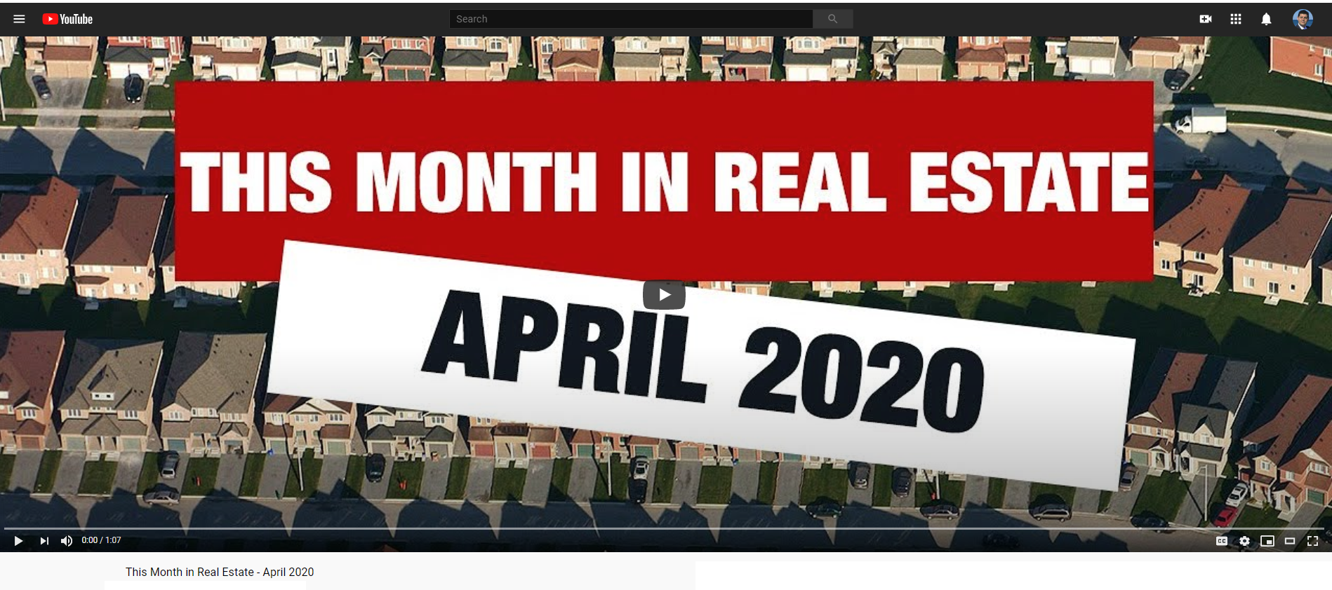 Keller Williams Realty This month in real estate April 2020 for Jean-Luc Andriot blog 041420