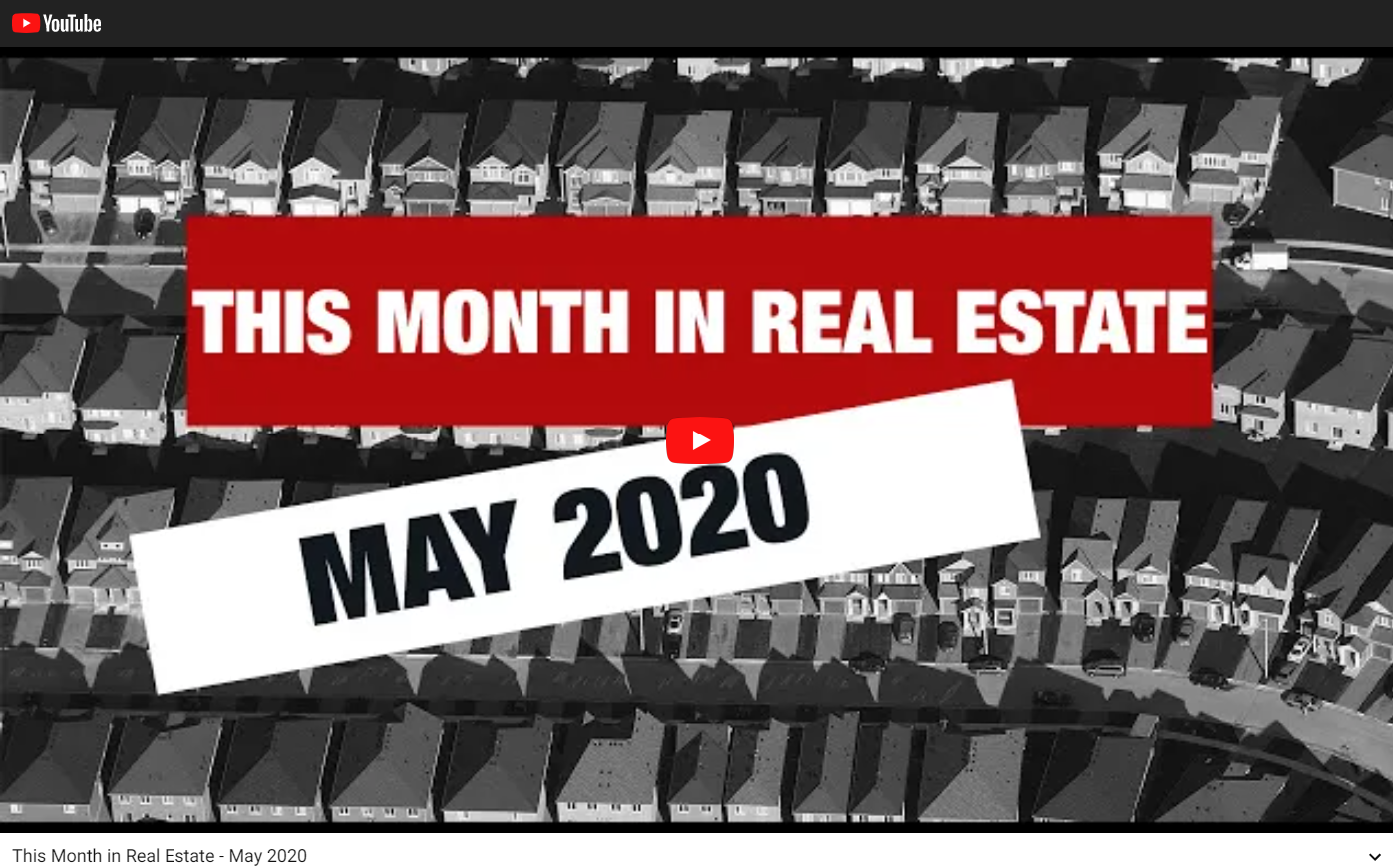 Keller Williams Realty This month in real estate May 2020 for Jean-Luc Andriot blog 051120