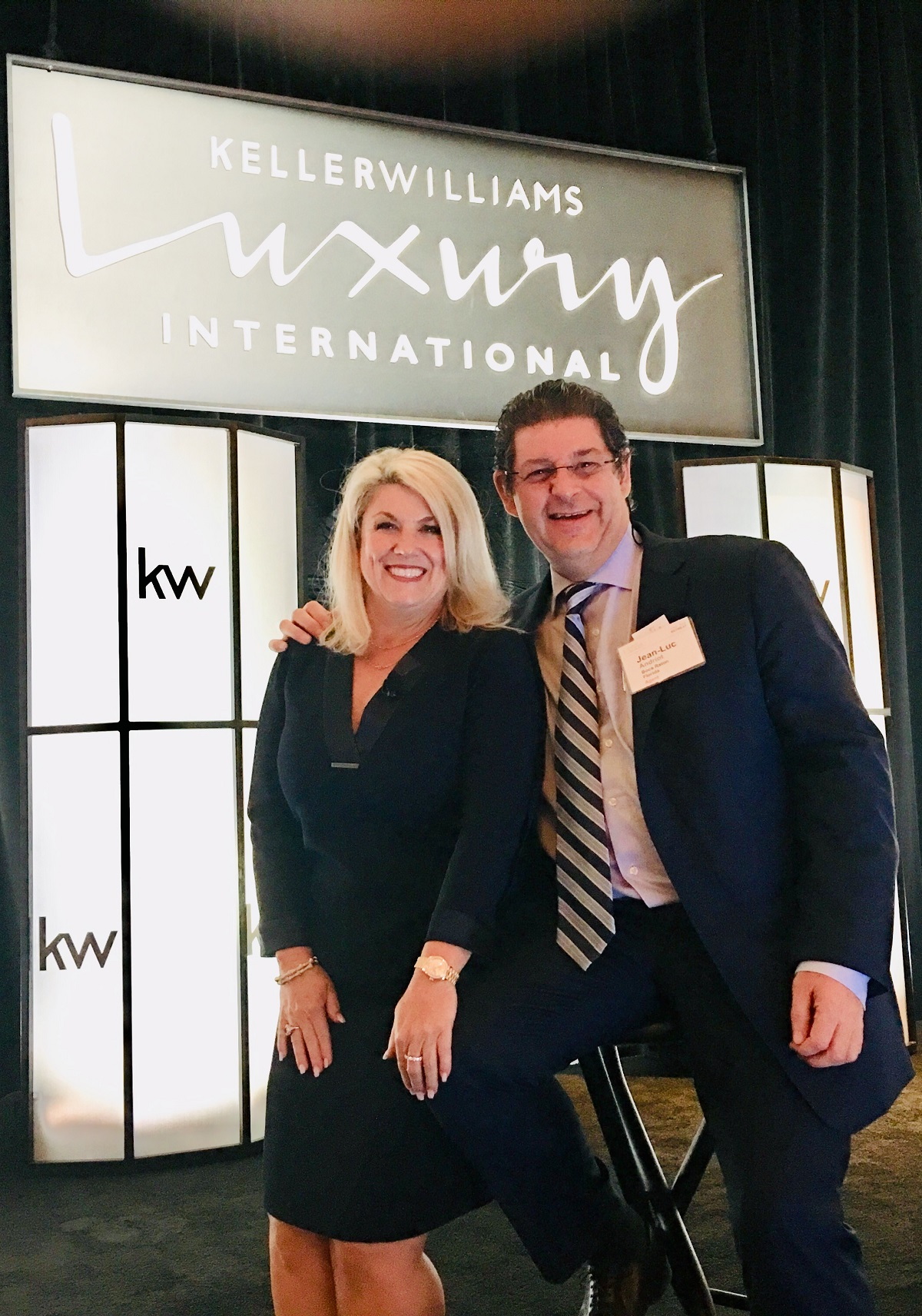 KW Luxury meeting Boca Raton April 2019 with Jean-Luc Andriot and Lesli Akers 041619