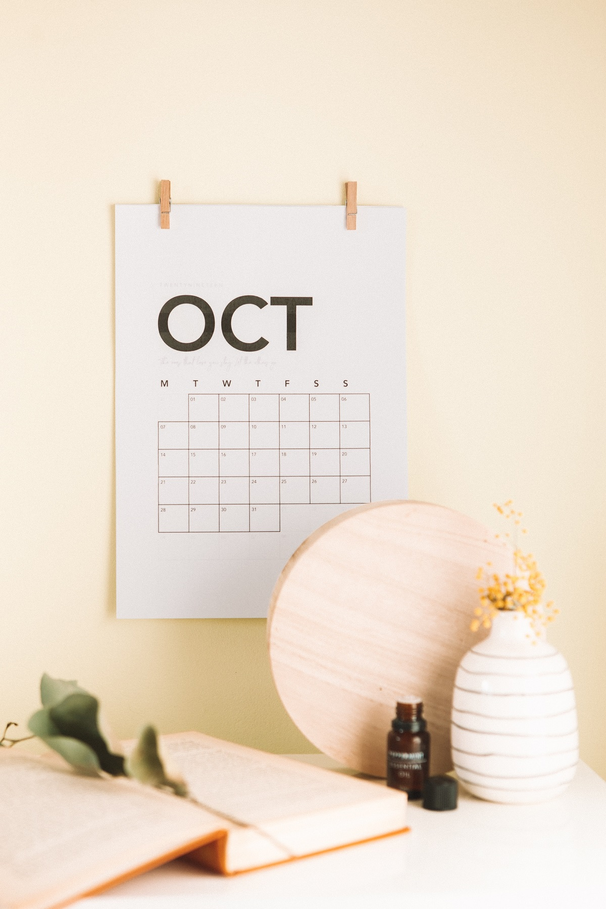 October calendar for Jean-Luc Andriot blog 093019
