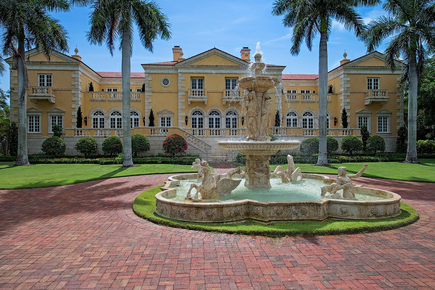 most expensive home in florida talk about curb appeal