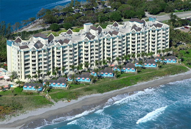 Presidential Place oceanfront luxury condominiums for sale