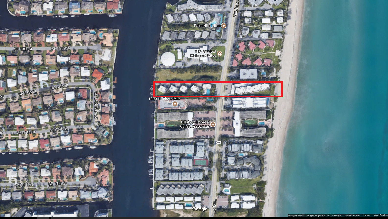 Shoreland 1202 - 1203 Hillsboro Mile, Hillsboro Beach, FL 33062 condominiums for sale