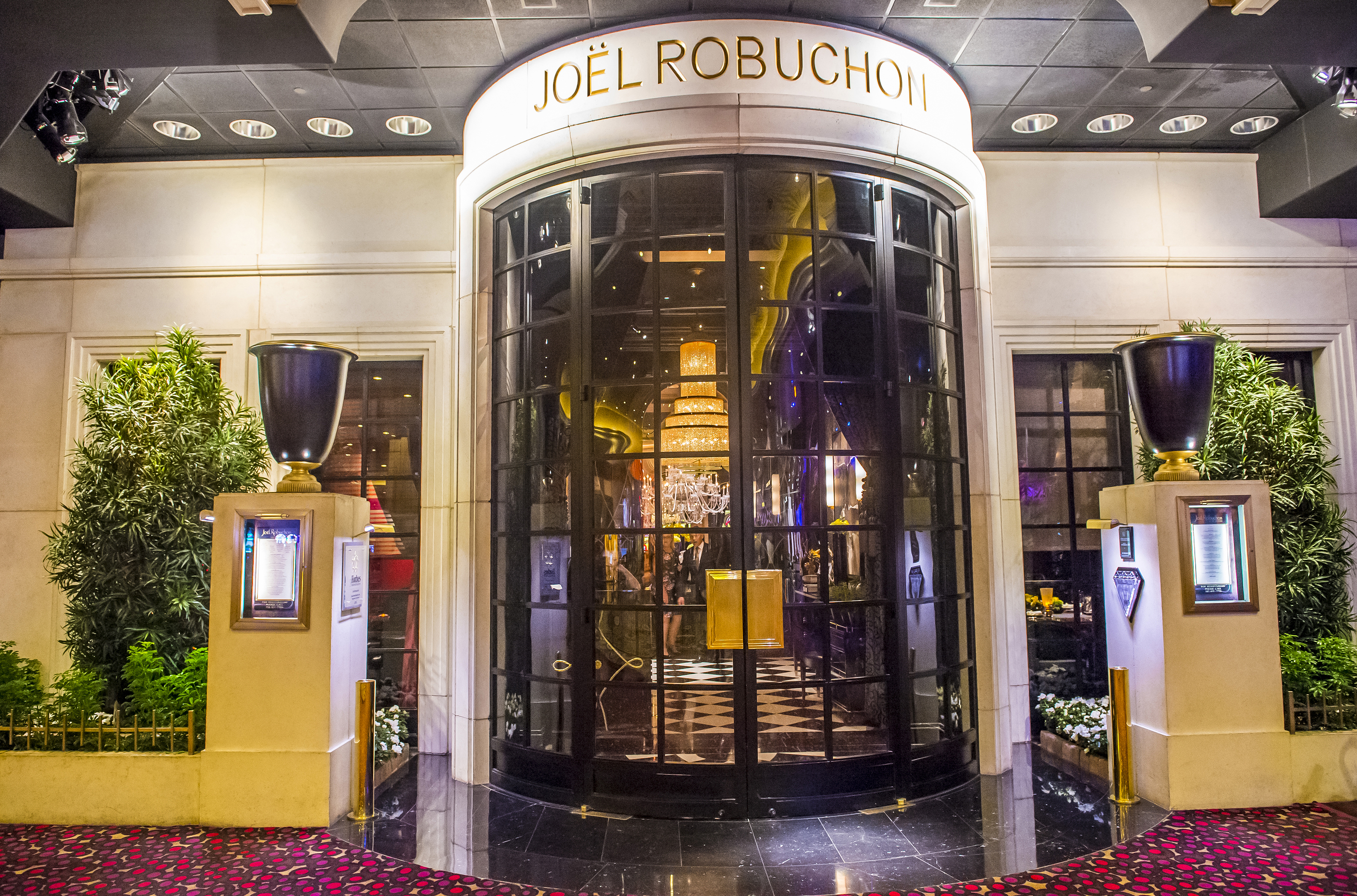 The Joel Robuchon restaurant in MGM hotel in Las Vegas on September 03 2015 for Jean-Luc Andriot blog 080618