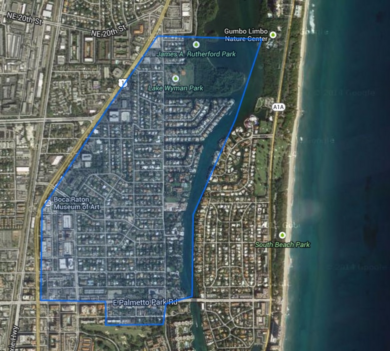 Mizner Park area homes, Boca Raton, 33432
